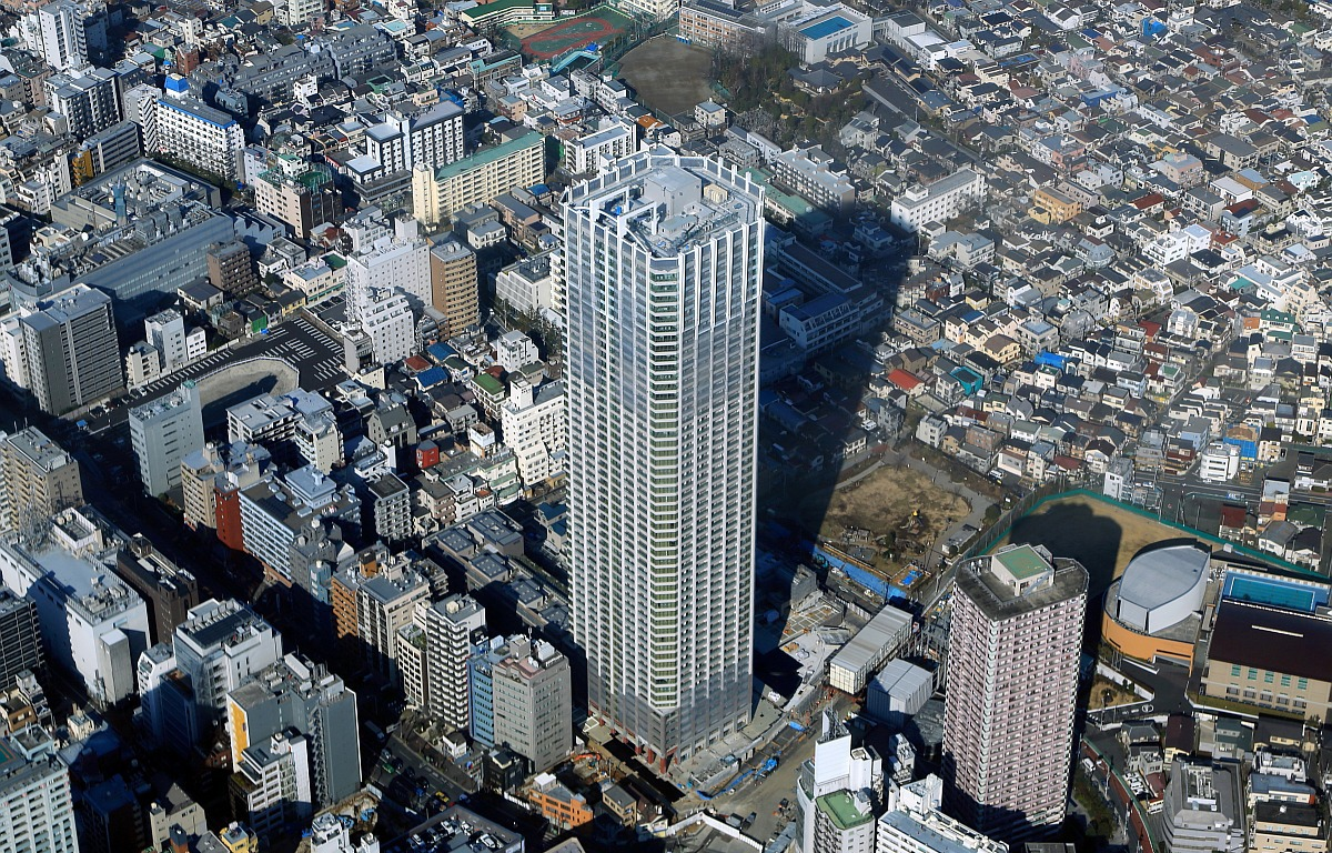新宿区のポスティング不可である高級マンション・高層タワーマンションにもチラシ広告をお届けします