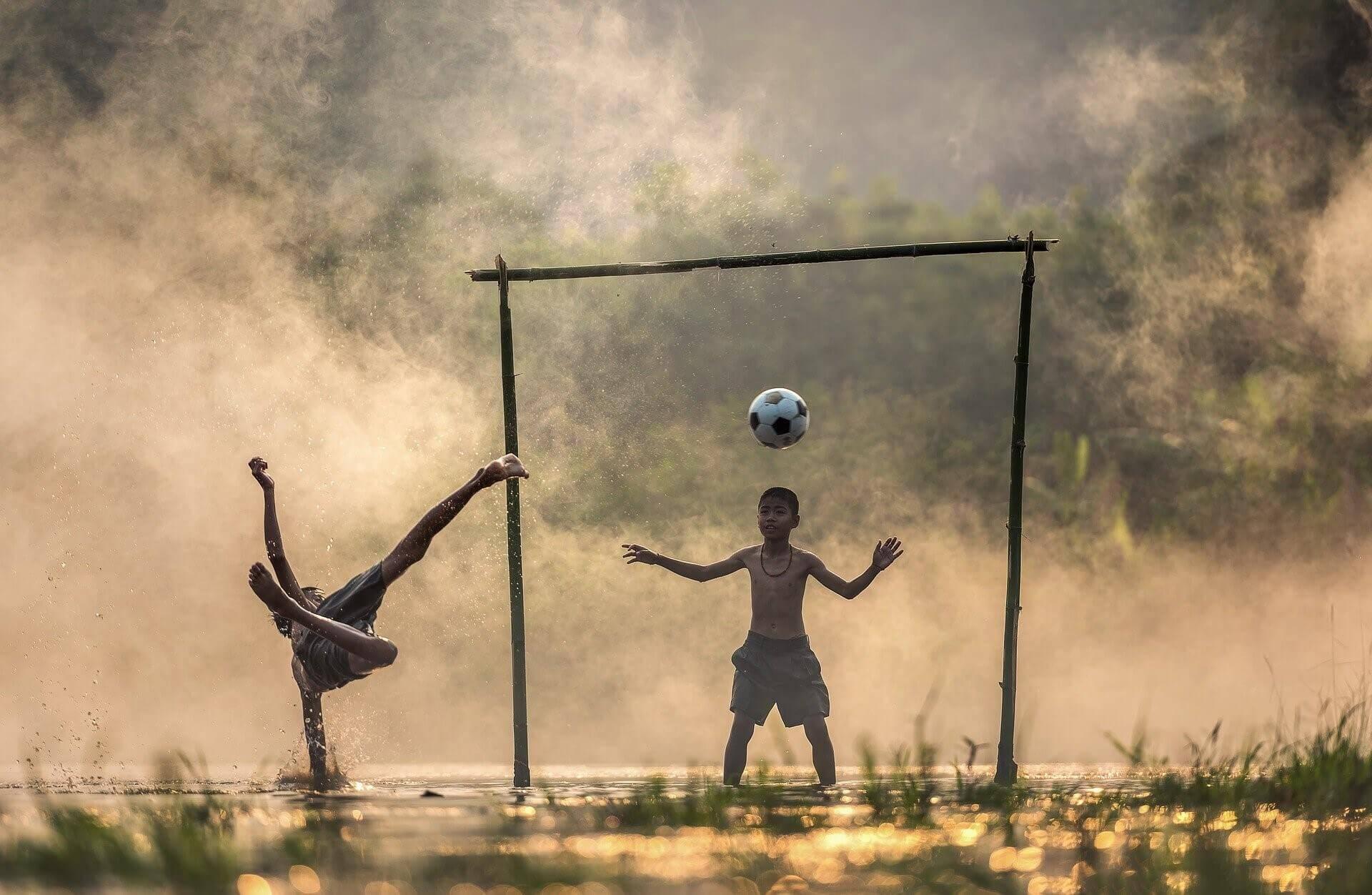 生徒のサッカー実力